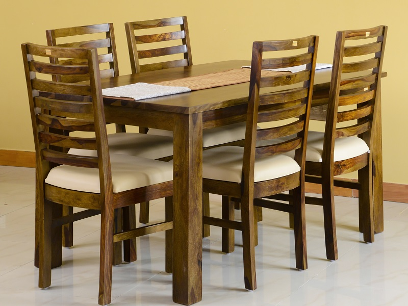 Alexa Dining Table Six Seater