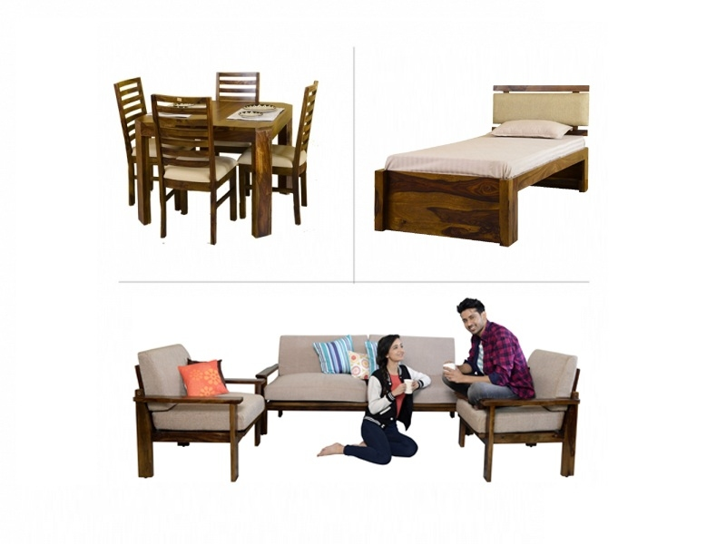 Belle 1BHK Furniture with Single Bed
