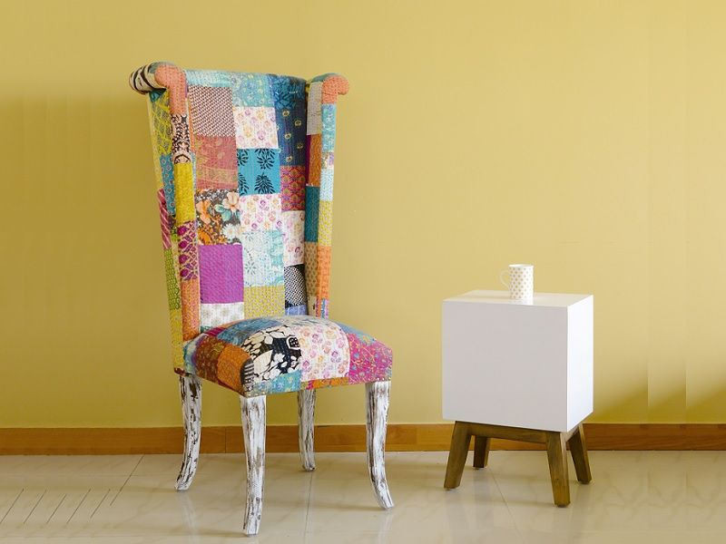 Belle Patch Work Chair