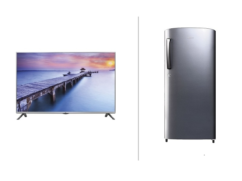 TV and Fridge Combo